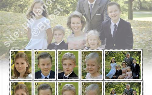 14 maart: De Koninklijke Familie (compleet blaadje)