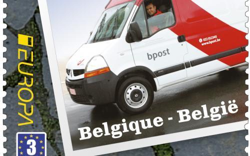 11 februari: Europa-uitgifte, bestelwagen