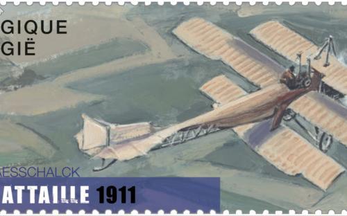 13 juni: Vlucht door de tijd, César Bataille 1911