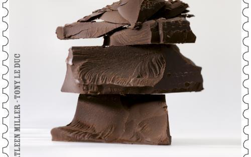 25 maart, Belgische Chocolade, zegel 2