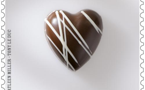 25 maart, Belgische Chocolade, zegel 3
