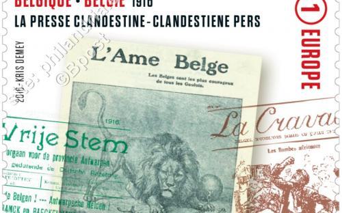 13 juni: De Groote Oorlog (Clandestiene pers)