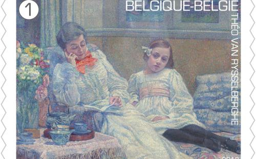 15 april: Théo Van Rysselberghe, zegel 10