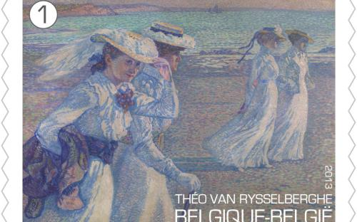 15 april: Théo Van Rysselberghe, zegel 2