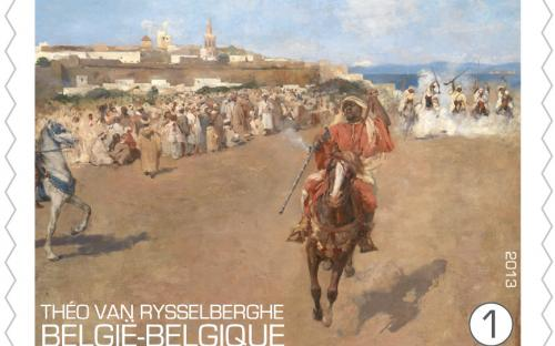 15 april: Théo Van Rysselberghe, zegel 4