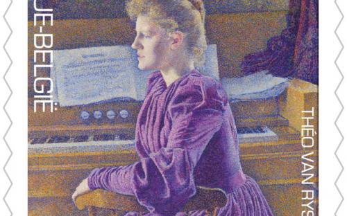 15 april: Théo Van Rysselberghe, zegel 6