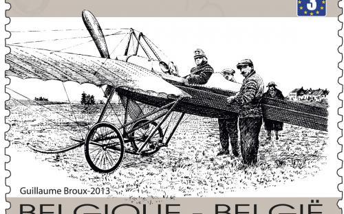 15 april: 100 jaar eerste luchtpost, St.Denijs Westrem