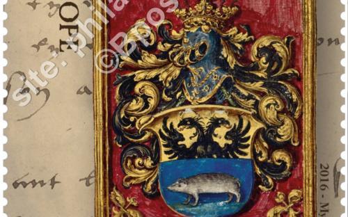 13 juni: 500 jaar Magna Carta, zegel Karel V