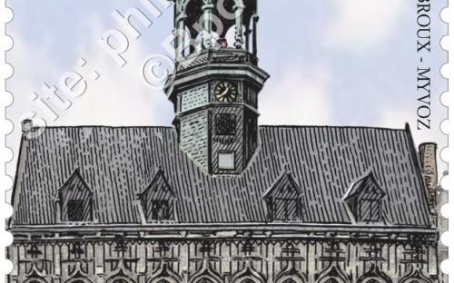 1 juni: De Grote Markt van Mons (Stadhuis)