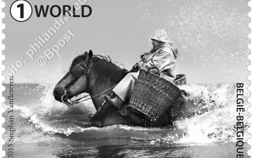 29 juni: Garnaalvisser te paard