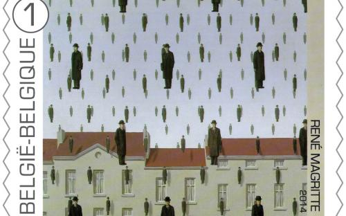 8 september: René Magritte, zegel 4
