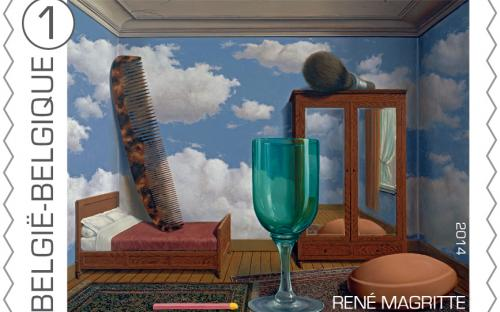 8 september: René Magritte, zegel 9