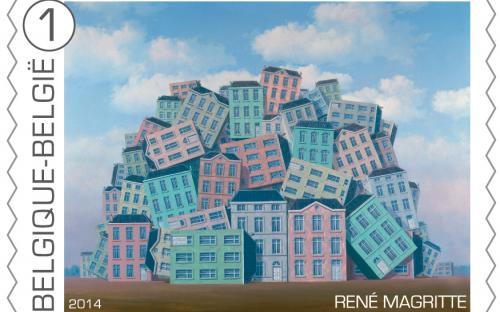 8 september: René Magritte, zegel 10