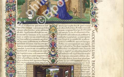 26 oktober: Middelleeuwse miniaturen - Het volledige blaadje