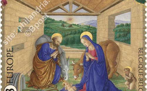 26 oktober: Middelleeuwse miniaturen (Zegel 1)