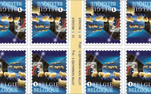 28 oktober: Kerstmis (binnenland), postzegelboekje