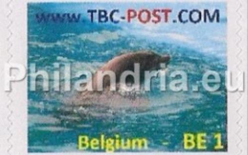 14 mei: BE-1: Dolfijn (METrandpapier (uit vel))