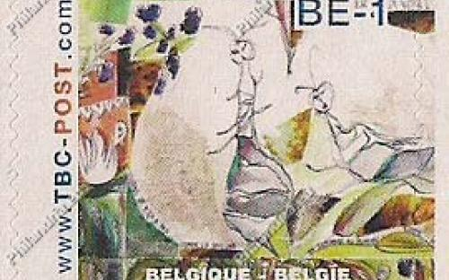 BE-1 (€0.67) - Insecten, Liefde is blind