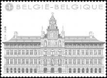 """België - Bpost, uitgifte """"De Grote Markt van Antwerpen"""""""
