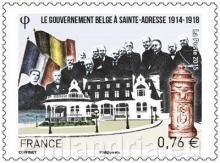 Frankrijk: De Belgische regering te St.Adresse (1914-1918)