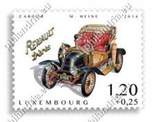 """Luxemburg: Weldadigheidreeks 2014 """"Oude auto's"""""""