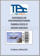 België - TBC-post, Catalogus TBC-post-uitgiften Editie 2015