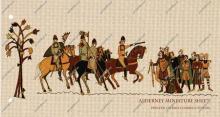 Alderney: 'mogelijk' einde van het oudste stripverhaal ter wereld, het 'Wandtapijt van Bajeux'.