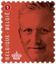 België - Bpost, Koning Filip op voorgefrankeerde omslag