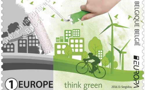13 juni: Europa-uitgifte, 'Think Green'