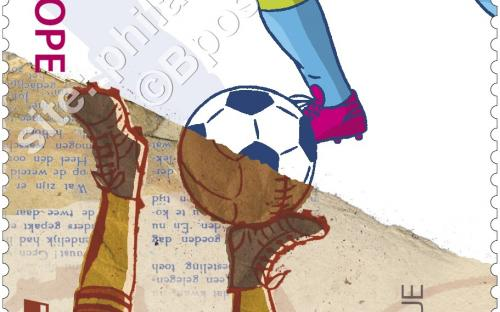 13 april: Europa-uitgifte, Speelgoed van alle tijden (Voetbal)