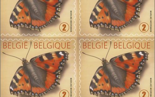 25 maart: Kleine Vos (Postzegelboekje)
