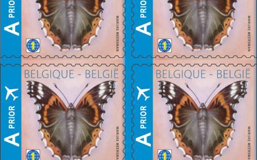 25 maart: Admiraalvlinder (Postzegelboekje)