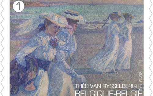 15 april: Théo Van Rysselberghe, zegel 2