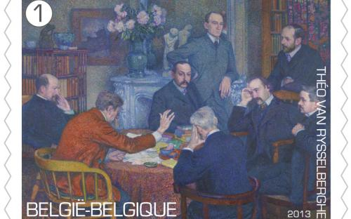15 april: Théo Van Rysselberghe, zegel 9