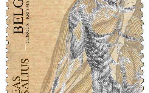 22 april: Andreas Vesalius (zegel A)
