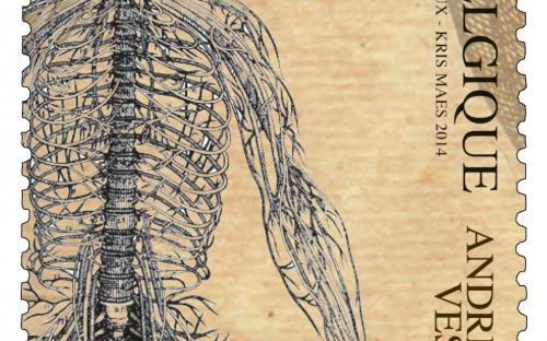 22 april: Andreas Vesalius (zegel C)