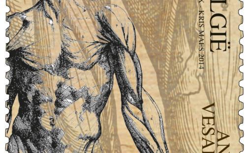 22 april: Andreas Vesalius (zegel D)