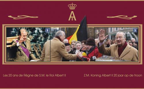 24 juni: Koning Albert II 20 jaar op troon, volledig blaadje