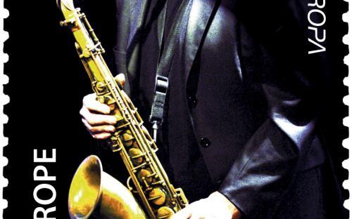 7 juli: Europa-uitgifte - Saxofoonspeler