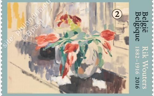 22 augustus: Rik Wouters ('Tulpen' (1913))