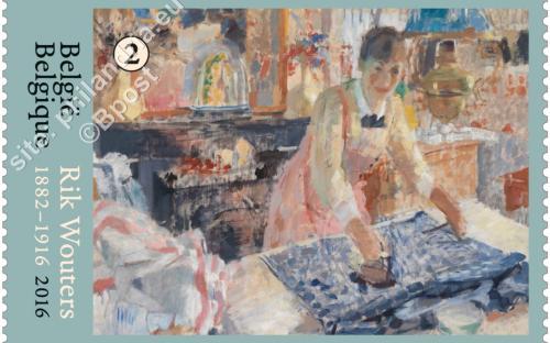 22 augustus: Rik Wouters ('De Strijkster' (1912))