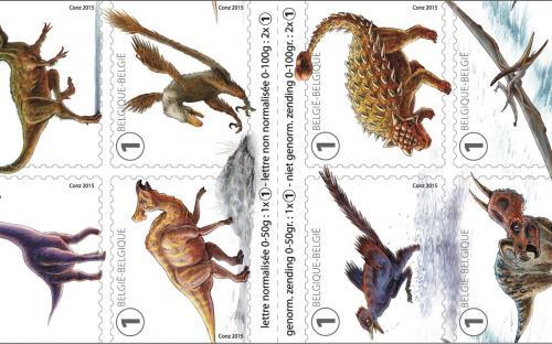 7 september: Geduchte Dino's - Het postzegelboekje