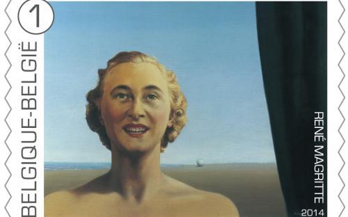 8 september: René Magritte, zegel 2