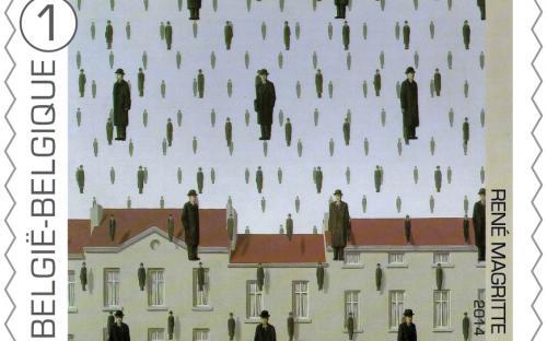 8 september: René Magritte, zegel 4
