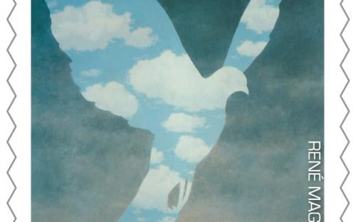 8 september: René Magritte, zegel 5