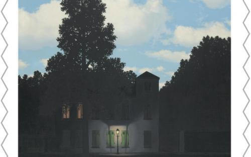 8 september: René Magritte, zegel 8