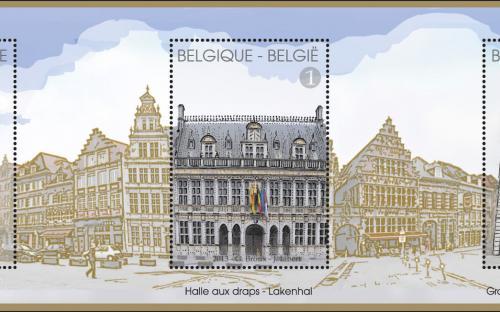 28 oktober: Grote Markt van Doornik, volledig blaadje