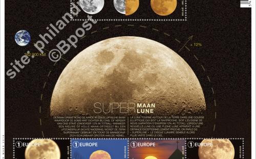 24 oktober: Supermaan (compleet blaadje)