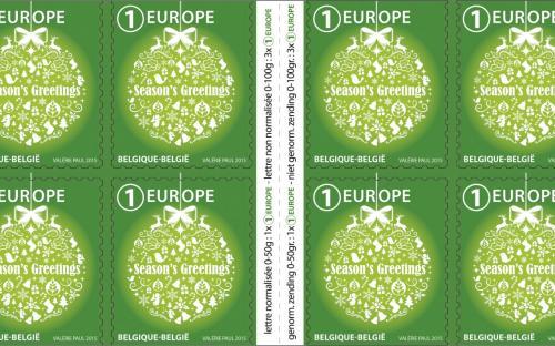26 oktober: Kerstmis & Nieuwjaar (Europa) - Het postzegelboekje