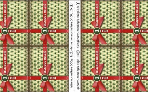 27 oktober: Kerstmis Nationaal (postzegelboekje)